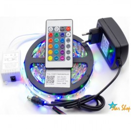 CINTA LED 5 MTS. MULTICOLOR CON CONTROL