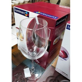 COPA WINE WORLD 47 CL SET 4 COPAS MARCA LUMINARC