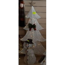 ARBOL LUMINOSO COLOR BLANCO